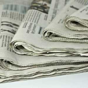 newspaper waste paper